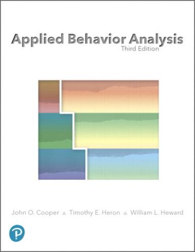 Cover art for Applied Behavior Analysis, 3rd Edition