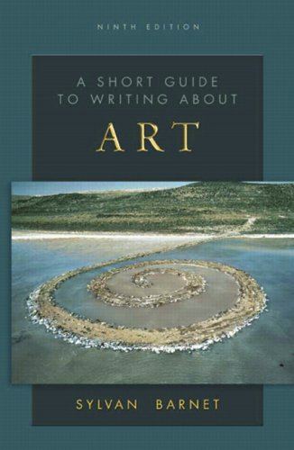 Short Guide to Writing about Art  9th 2008 edition cover