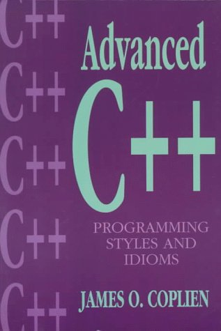 Advanced C++ Programming Styles and Idioms   1992 edition cover