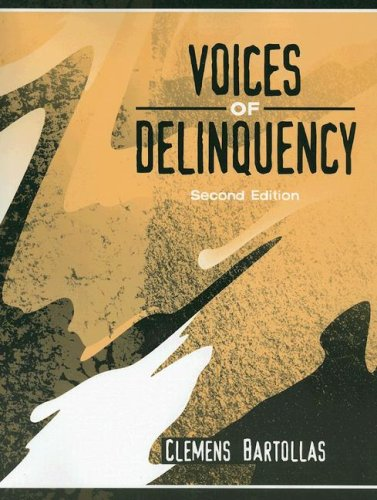 Voices of Deliquency  2nd 2006 (Revised) edition cover