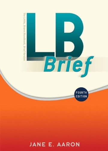 LB Brief with Tabs  4th 2011 9780205751556 Front Cover