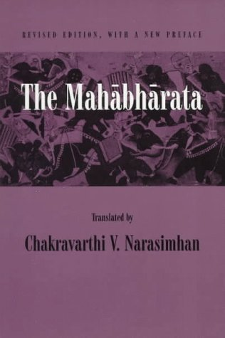 Mahabharata An English Version Based on Selected Verses  1998 (Revised) edition cover