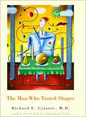 Man Who Tasted Shapes   2003 edition cover