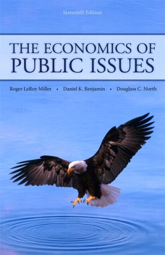 Economics of Public Issues  16th 2010 edition cover