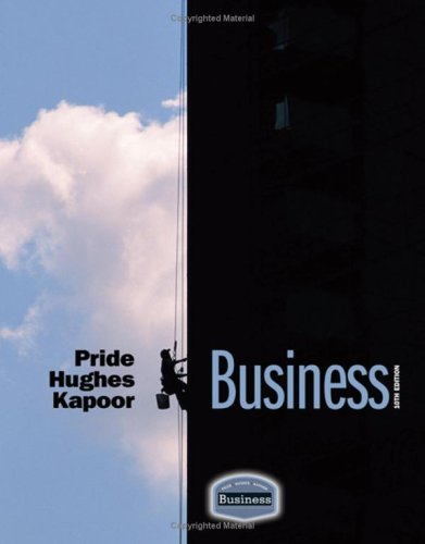 Business  10th 2010 edition cover