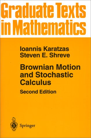 Brownian Motion and Stochastic Calculus  2nd 1998 (Revised) edition cover