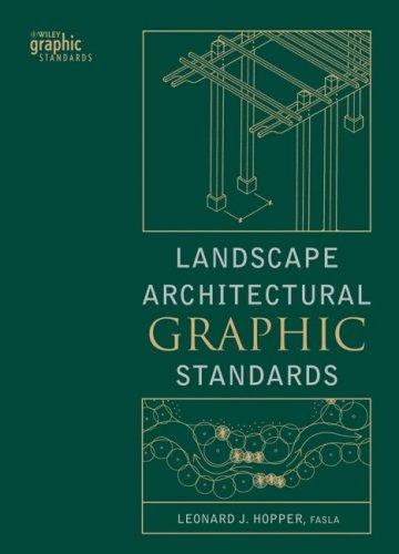 Landscape Architectural Graphic Standards   2007 edition cover