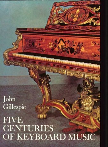 Five Centuries of Keyboard Music   1972 (Reprint) 9780486228556 Front Cover
