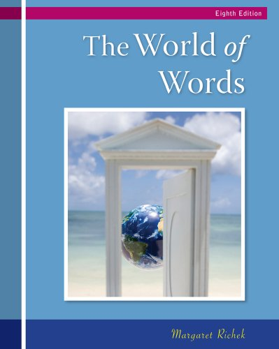 World of Words Vocabulary for College Success 8th 2011 edition cover