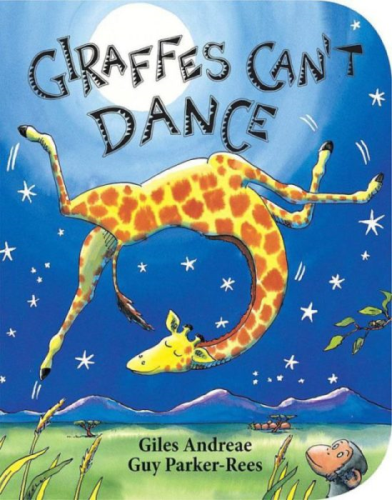 Giraffes Can't Dance  N/A 9780545392556 Front Cover