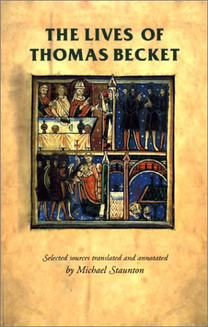 Lives of Thomas Becket   2001 edition cover