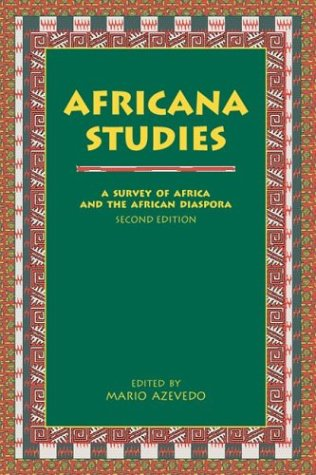 Africana Studies A Survey of Africa and the African Diaspora 2nd 1998 edition cover