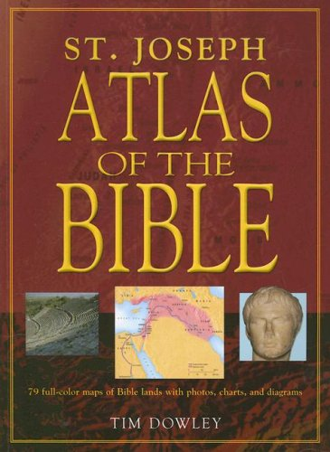St. Joseph Atlas of the Bible   2004 edition cover