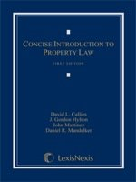 Concise Introduction to Property Law  N/A edition cover