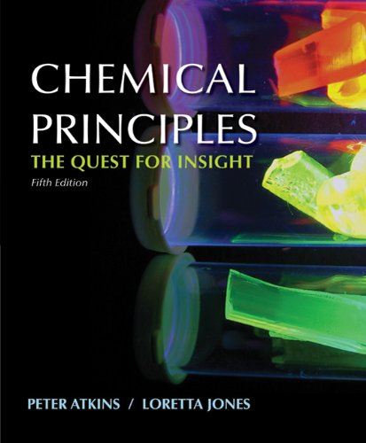 Chemical Principles  5th 2009 edition cover