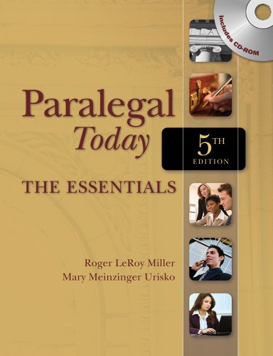 Paralegal Today  5th 2011 edition cover