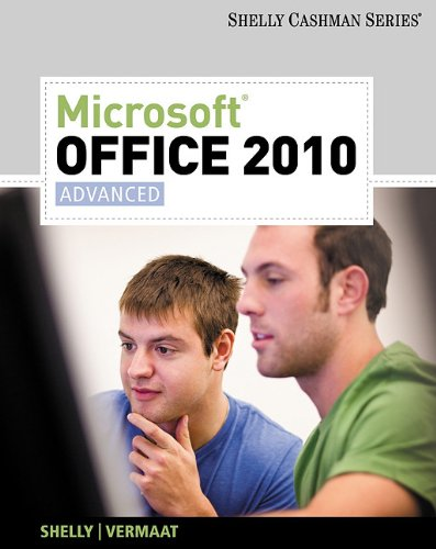 Microsoft Office 2010 Advanced  2011 edition cover