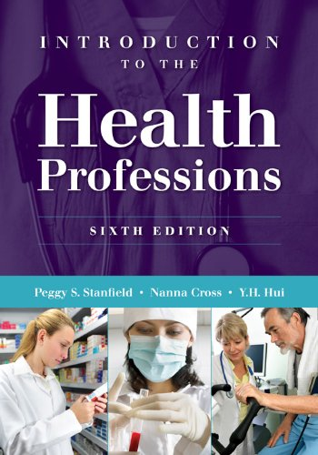Introduction to the Health Professions  6th 2012 edition cover