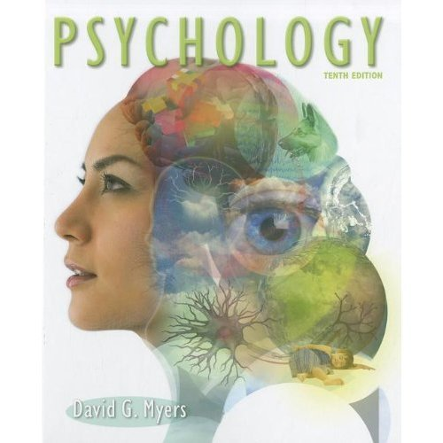 Psychology  10th 2013 edition cover