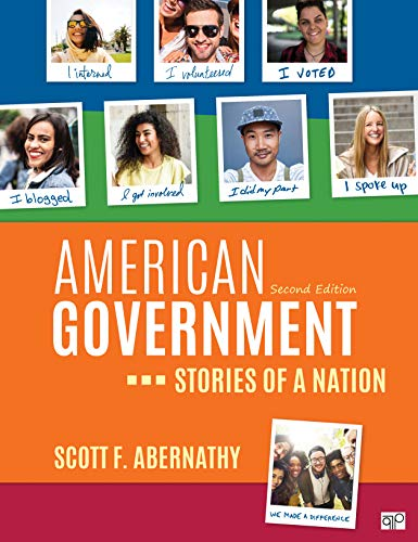 American Government: Stories of a Nation  2019 9781544327556 Front Cover
