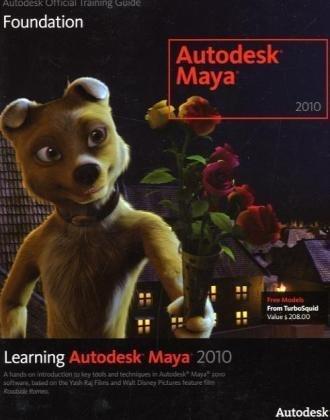 Learning Autodesk Maya 2010 Foundation  2009 edition cover