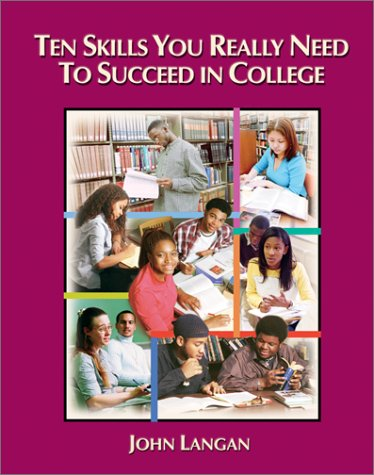 Ten Skills You Really Need to Succeed in College   2003 edition cover