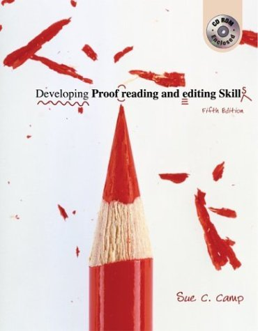 Developing Proofreading and Editing Skills  5th 2005 (Student Manual, Study Guide, etc.) edition cover