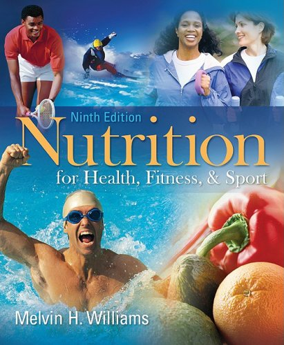 Nutrition for Health, Fitness and Sport  9th 2010 edition cover