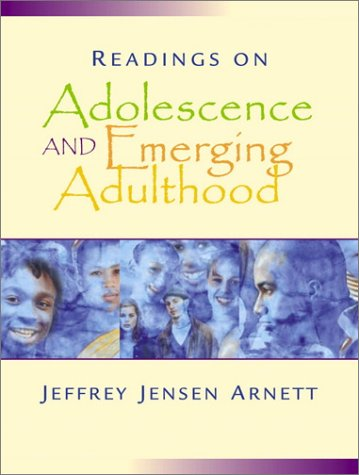 Readings on Adolescence and Emerging Adulthood A Book of Readings  2002 edition cover