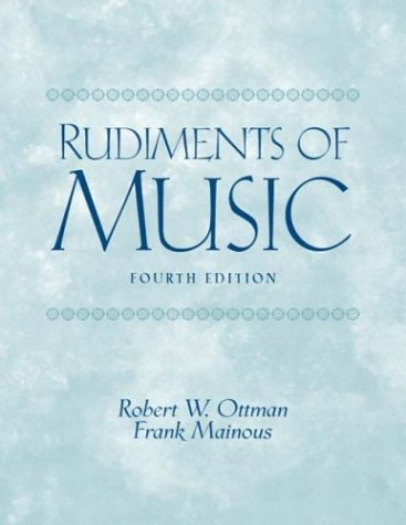 Rudiments of Music  4th 2004 (Revised) edition cover