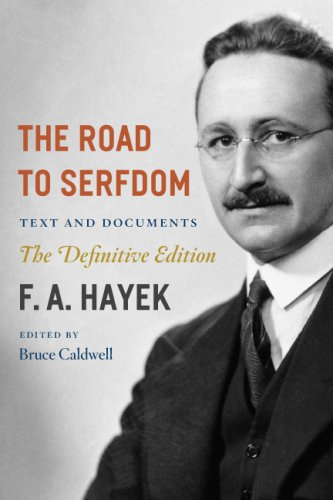 Road to Serfdom Text and Documents  2007 9780226320557 Front Cover
