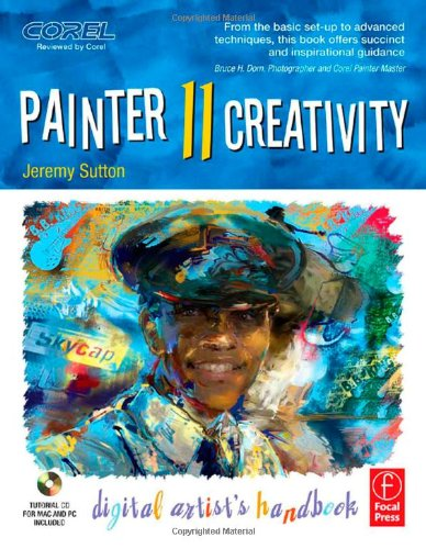 Painter 11 Creativity Digital Artist's Handbook  2010 edition cover