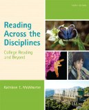 Reading Across the Disciplines College Reading and Beyond Plus NEW MyReadingLab with EText -- Access Card Package 6th 2015 edition cover