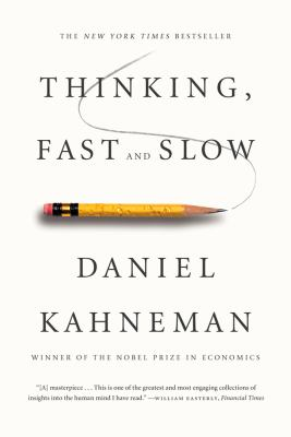 Thinking, Fast and Slow   2013 9780374533557 Front Cover