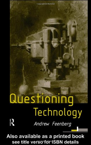 Questioning Technology   1999 edition cover