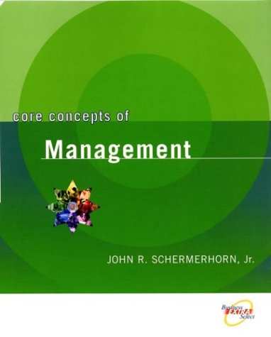 Core Concepts of Management  2nd 2004 edition cover