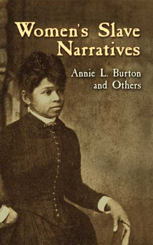 Women's Slave Narratives   2006 edition cover