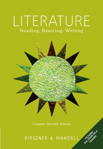 Compact Literature Reading, Reacting, Writing, 2009 MLA Update Edition 7th 2011 edition cover
