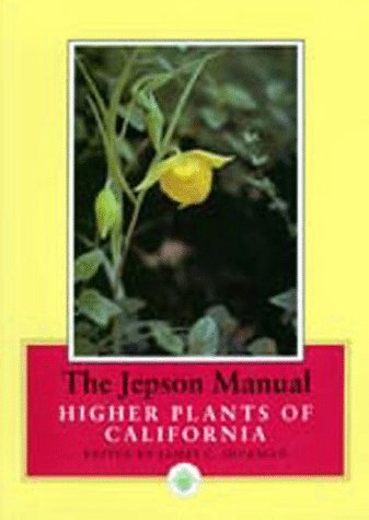 Jepson Manual Higher Plants of California  1993 edition cover
