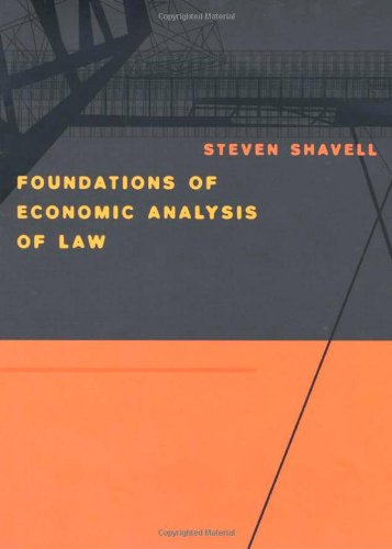 Foundations of Economic Analysis of Law   2004 edition cover