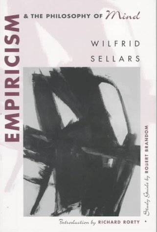 Empiricism and the Philosophy of Mind   1997 edition cover