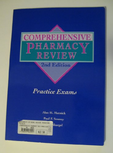 Comprehensive Pharmacy Review Practice Exams  2nd 1994 (Revised) 9780683062557 Front Cover