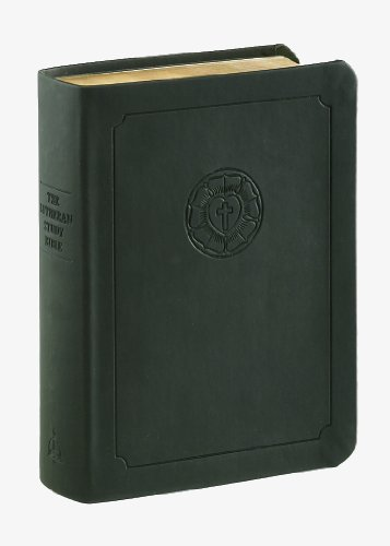 The Lutheran Study Bible: English Standard Version, Black DuoTone  2012 edition cover
