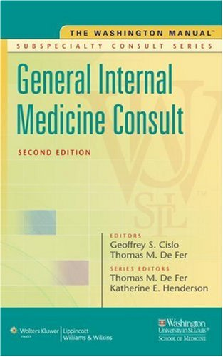 General Internal Medicine Consult  2nd 2009 (Revised) edition cover