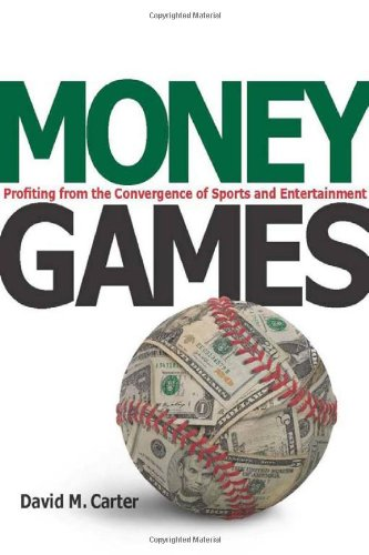 Money Games Profiting from the Convergence of Sports and Entertainment  2010 edition cover