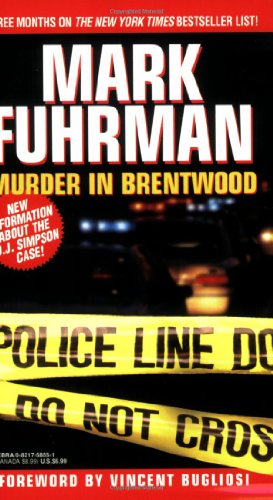 Murder in Brentwood   1997 edition cover