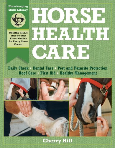 Horse Health Care A Step-by-Step Photographic Guide to Mastering over 100 Horsekeeping Skills  1997 edition cover