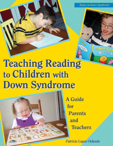 Teaching Reading to Children with down Syndrome A Guide for Parents and Teachers  1995 edition cover