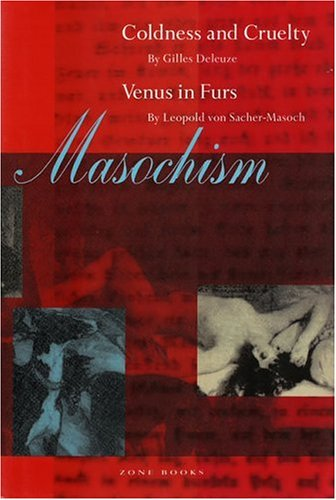 Masochism Coldness and Cruelty and Venus in Furs  1989 (Reprint) edition cover
