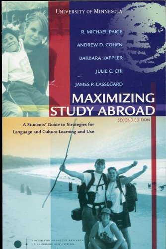MAXIMIZING STUDY ABROAD N/A edition cover